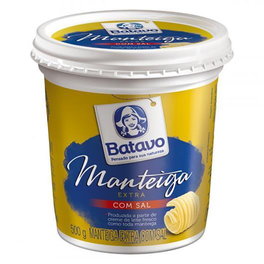 Manteiga Batavo extra com sal 500g - Imagem em destaque