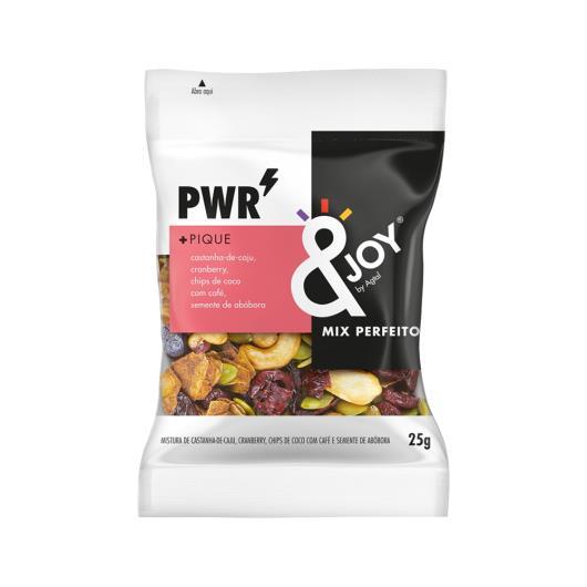 Mix de frutas Ejoy PWR castanha de cajú, cranberry e coco 25g - Imagem em destaque