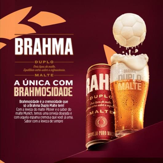 Cerveja Brahma Duplo Malte Puro Malte 350ml Lata - Imagem em destaque