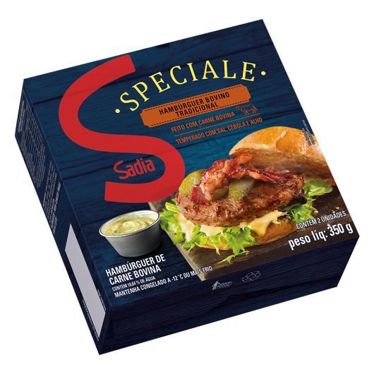 Hambúrguer Bovino Tradicional Sadia Speciale 350g - Imagem em destaque