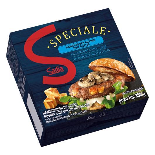 Hambúrguer Bovino com Queijo Sadia Speciale 350g - Imagem em destaque