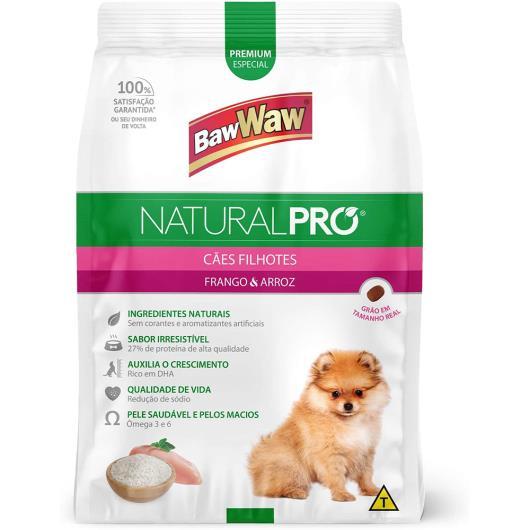 Alimento para cães natural pró Baw Waw filhotes 2.5kg - Imagem em destaque