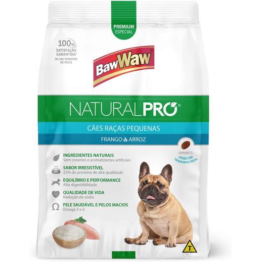 Alimento para cães natural pró Baw Waw raças pequenas 2,5kg - Imagem em destaque