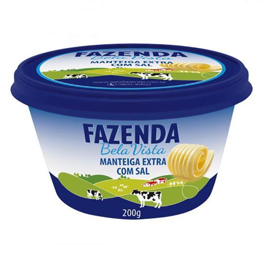 Manteiga Fazenda Boa Vista extra com sal 200g - Imagem em destaque