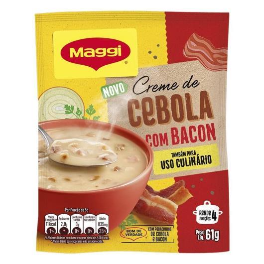 Creme Maggi cebola com bacon 61g - Imagem em destaque