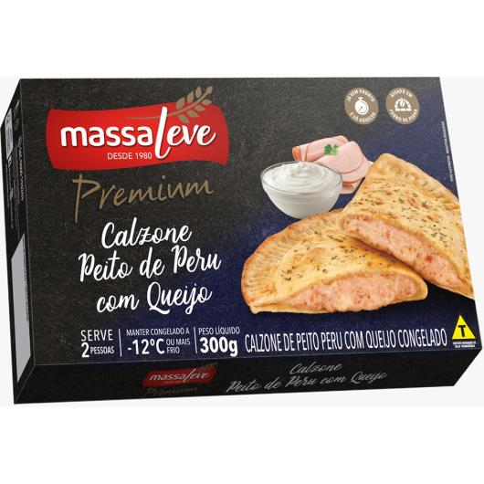 Calzone Massa Leve premium peito de peru com queijo 300g - Imagem em destaque