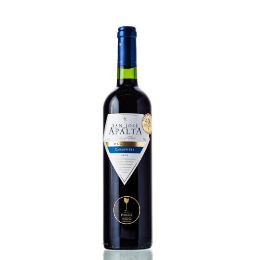Vinho Chileno San José de Apalta tinto clássico carmenere 750ml - Imagem em destaque