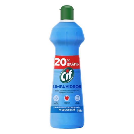 Limpa Vidros Cif squeeze 20% grátis - 500ml - Imagem em destaque