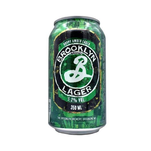 Cerveja Brooklyn lager Lata 350ml - Imagem em destaque