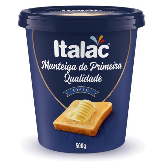 Manteiga Italac de primeira qualidade 500g - Imagem em destaque