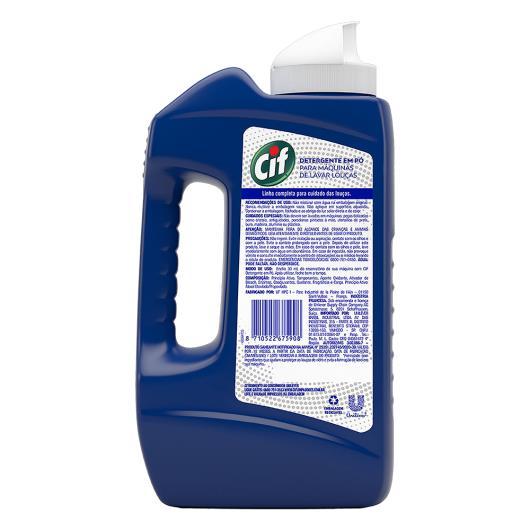 Detergente para Máquina pó Cif lavar louças 1kg - Imagem em destaque