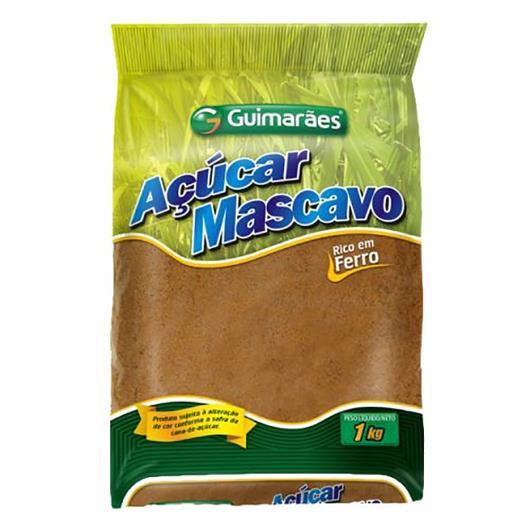 Açúcar Guimaraes mascavo 1kg - Imagem em destaque
