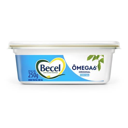 Creme Vegetal Original com Sal Becel Pote 250g - Imagem em destaque