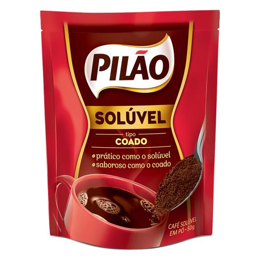Café Solúvel Coado Pilão Sachê 50g - Imagem em destaque