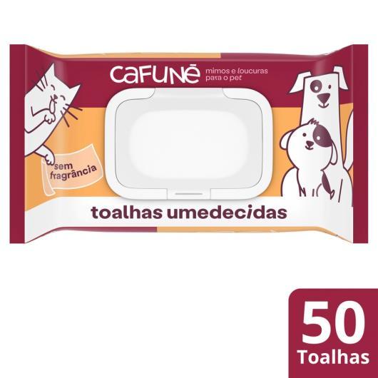 Toalha umedecida Cafuné uso veterinário c/ 50 unids - Imagem em destaque