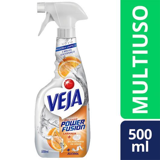 Limpador Veja Power Fusion multiuso laranja gatilho 500ml - Imagem em destaque