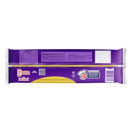 Macarrão de Milho e Arroz Espaguete 8 sem Glúten Renata Pacote 500g - Imagem em destaque