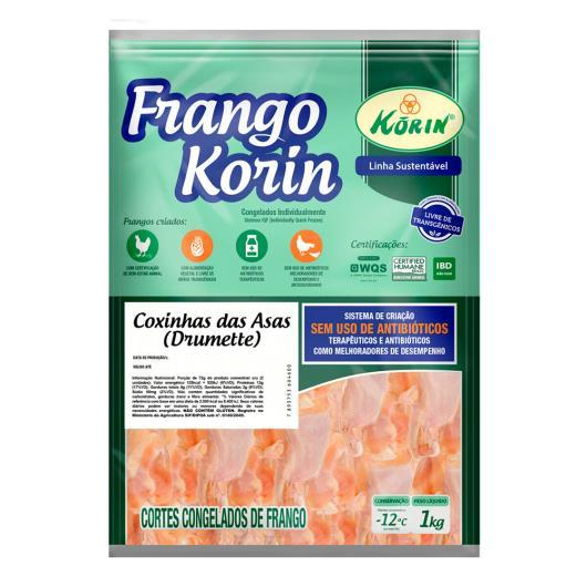 Coxinha da asa frango Korin sem transgênicos 1kg - Imagem em destaque