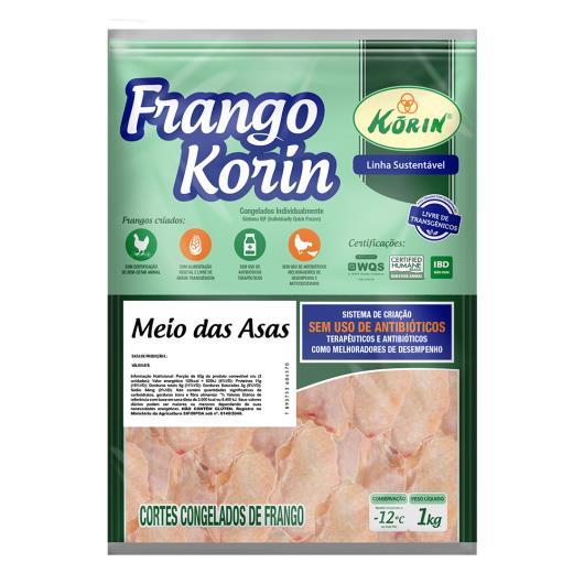 Meio da Asa Frango Korin sem transgênicos 1kg - Imagem em destaque