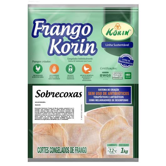 Sobrecoxa de Frango Korin sem transgênicos 1kg - Imagem em destaque