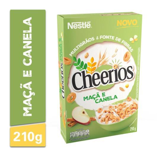 Cereal Nestlé Cheerios maçã e canela 210g - Imagem em destaque