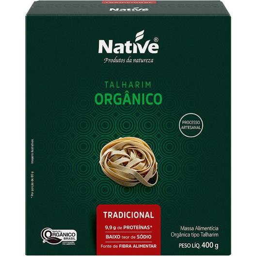 Massa alimentícia orgânico Native talharim tradicional 400g - Imagem em destaque