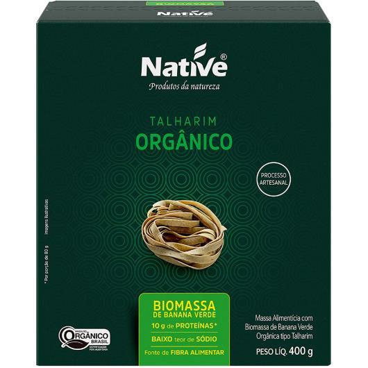 Massa alimentícia orgânico Native talharim biomassa 400g - Imagem em destaque