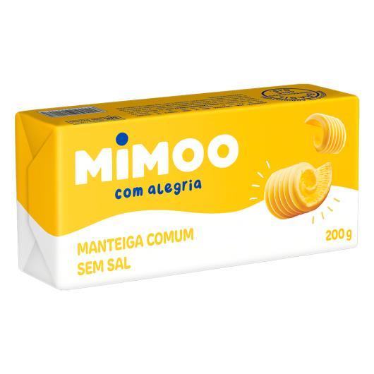 Manteiga Comum sem Sal Mimoo 200g - Imagem em destaque
