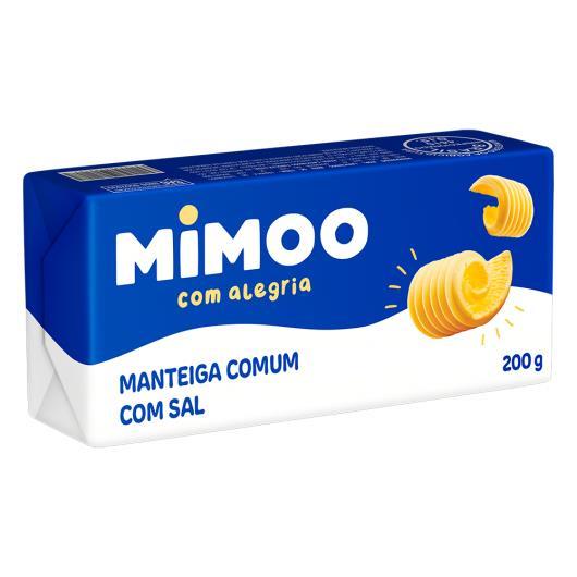 Manteiga Comum com Sal Mimoo 200g - Imagem em destaque