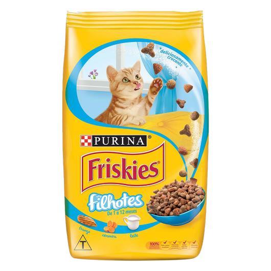 Alimento para Gatos Filhotes Frango, Cenoura e Leite Purina Friskies Pacote 500g - Imagem em destaque