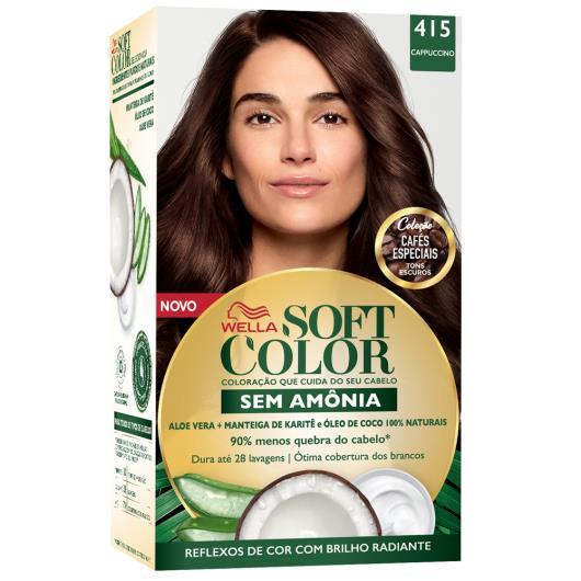 Coloração Soft Color 415 Cappuccino - Imagem em destaque