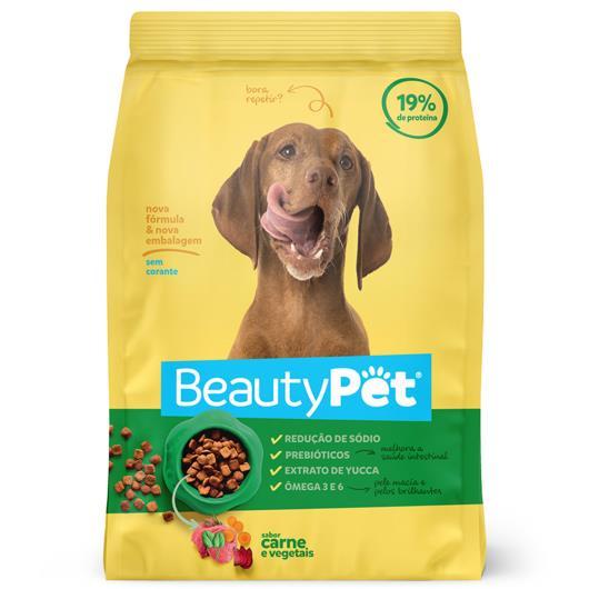 Alimento para Cães Carne e Vegetais Beauty Pet Pacote 6kg - Imagem em destaque