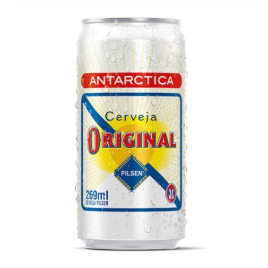 Cerveja Antarctica Original lata 269ml - Imagem em destaque