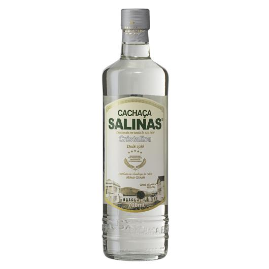 Cachaça Cristalina Salinas Garrafa 700ml - Imagem em destaque