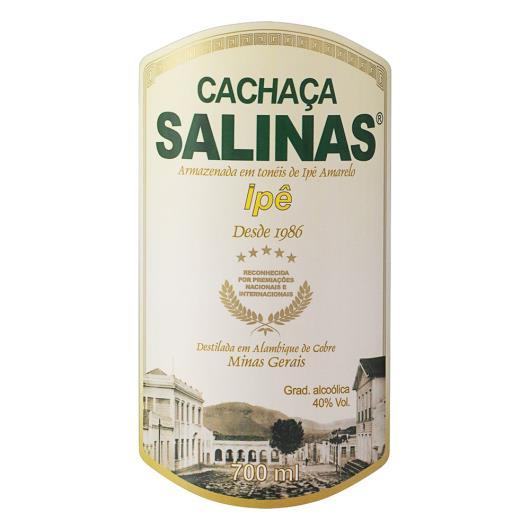 Cachaça Ipê Salinas Garrafa 700ml - Imagem em destaque