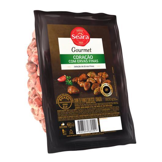 Coração Seara Gourmet com ervas finas 800g - Imagem em destaque