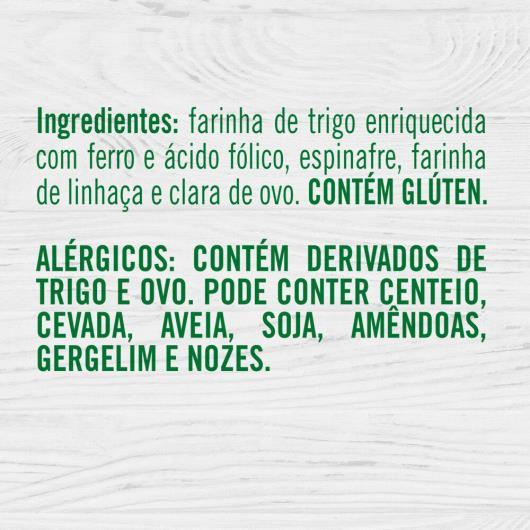 Macarrão Knorr Talharim com Espinafre e Linhaça 300gr - Imagem em destaque