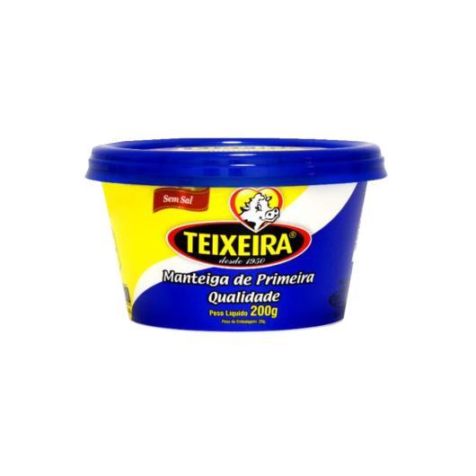 MANTEIGA TEIXEIRA 200G POTE S/SAL - Imagem em destaque