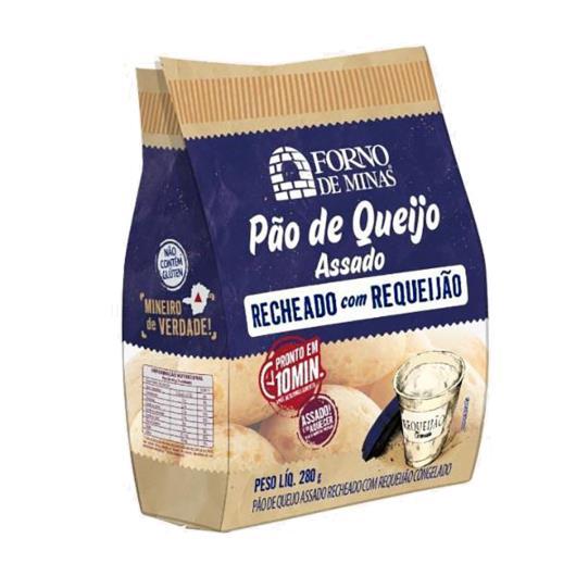Pão de Queijo Forno de Minas Recheado de Requeijão 280g - Imagem em destaque