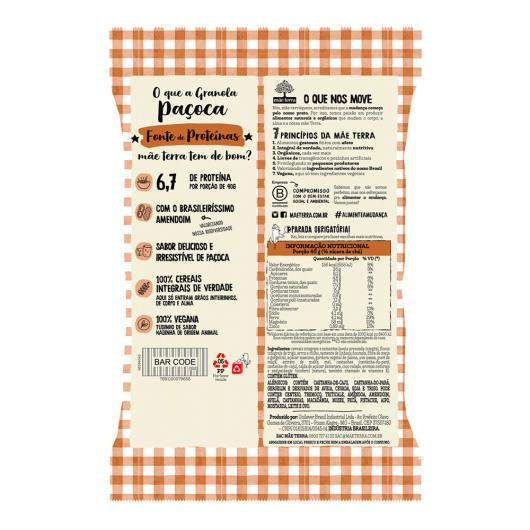 Granola Paçoca Mãe Terra Pacote 200g - Imagem em destaque