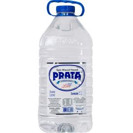 Água mineral Prata Leve sem gás pet 5L