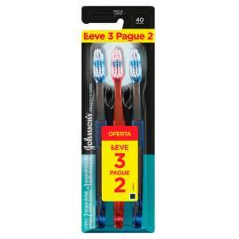 Escova dental Johnson&Johnson reach 40 profissional Leve 3 Pague 2