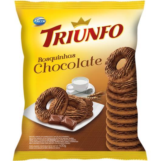 Biscoito rosquinha de chocolate Triunfo 400g - Imagem em destaque