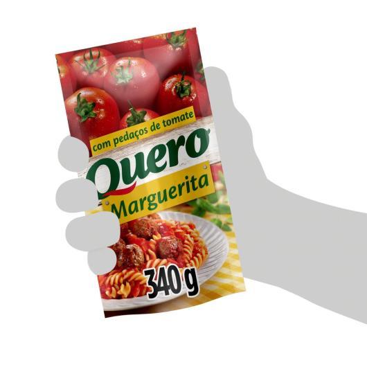 Molho de tomate Quero Marguerita sachê 340g - Imagem em destaque