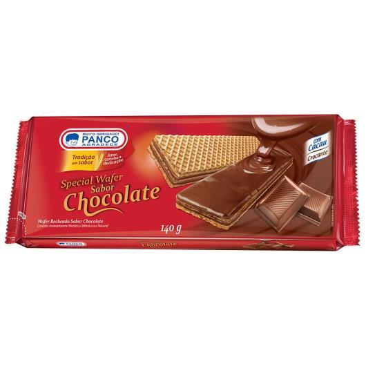 Wafer Panco special chocolate 140g - Imagem em destaque