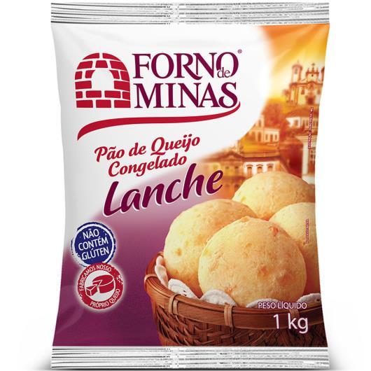 Pão de queijo Forno de Minas lanche 1kg - Imagem em destaque