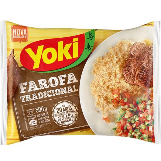 Farofa pronta Yoki 500g - Imagem em destaque