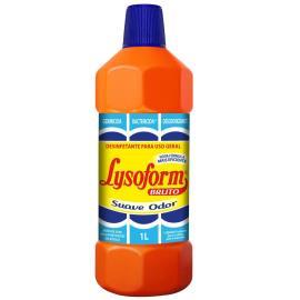 Desinfetante Lysoform Bruto Suave Odor 1l