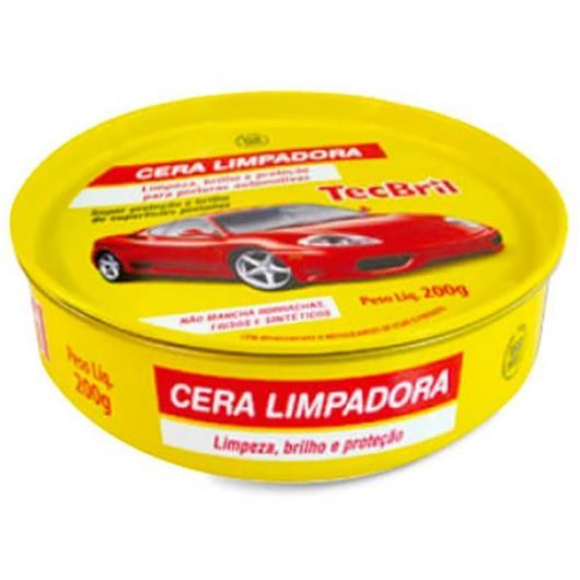 Cera Tecbril Limpadora lata 200g - Imagem em destaque