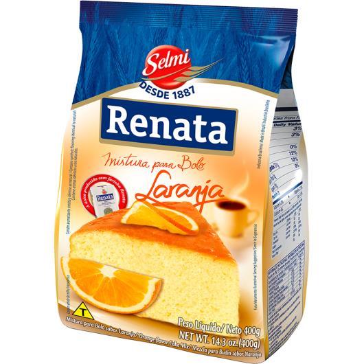 Mistura para bolo Renata sabor laranja 400g - Imagem em destaque
